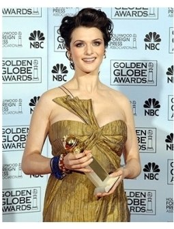 63rd Golden Globes Backstage Photos: Rachel Weisz
