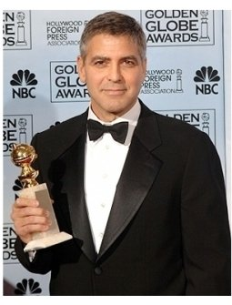 63rd Golden Globes Backstage Photos: George Clooney