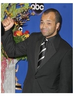 Jeffrey Wright backstage at the 2004 Emmy Awards