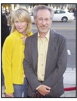 Steven Spielberg and Kate Capshaw at <I>The Terminal</I> premiere