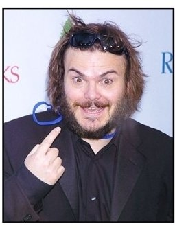 """Jack Black at the NRDC's """"Earth to L.A.!-The Greatest Show on Earth"""" Benefit"""