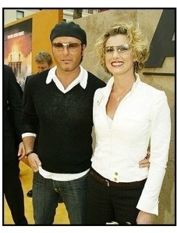 "Tim McGraw and Faith Hill at ""The Alamo"" Premiere"