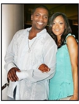 """Mekhi Phifer and girlfriend at the """"Dawn of the Dead"""" Premiere"""