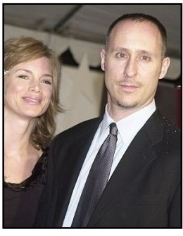 """Director Gavin O'Connor and date at the """"Miracle"""" premiere"""