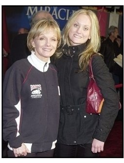 "Cathy Rigby and daughter Theresa at the ""Miracle"" premiere"