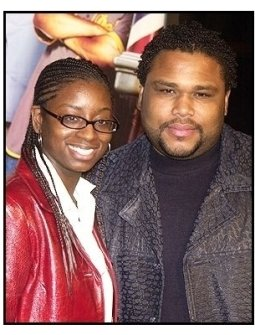 """Anthony anderson and wife Alvina at the """"Barbershop 2: Back in Business"""" premiere"""
