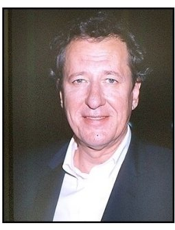 """Geoffrey Rush at the """"Intolerable Cruelty"""" premiere"""