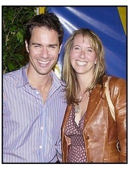 """Eric McCormack and wife Janet Holden at the Los Angleles premiere of Cirque Du Soleil's latest production """"Varekai"""""""