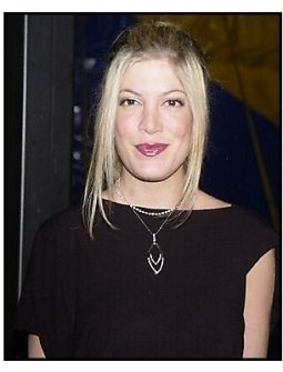 "Tori Spelling arrives at the Los Angleles premiere of Cirque Du Soleil's latest production ""Varekai"""