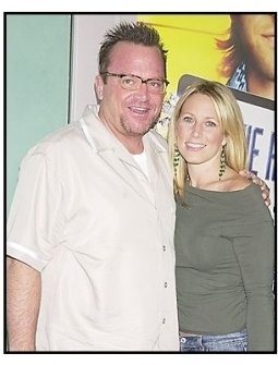 "Tom Arnold and wife Shelby at the ""Dickie Roberts: Former Child Star"" premiere"