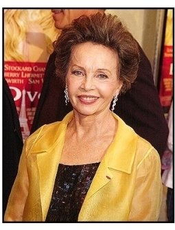 "Leslie Caron at the ""Le Divorce"" premiere"