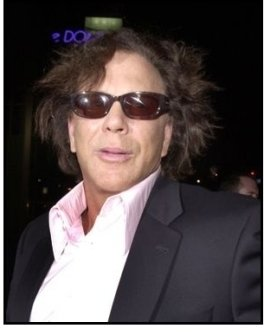 """Mickey Rourke at the """"Spun"""" Premiere"""