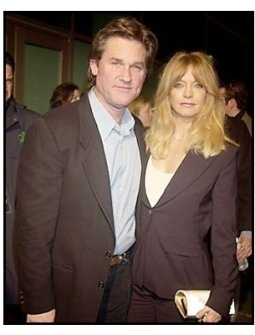 """Kurt Russell and Goldie Hawn at the """"Dark Blue"""" premiere"""