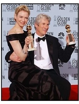 2003 Golden Globe Awards Backstage: Richard Gere and Renee Zellweger