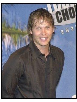 Teen Choice Awards 2002 Backstage: Barry Watson won the Choice TV Actor, Drama