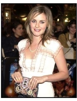 Alicia Silverstone at the Harry Potter Premiere