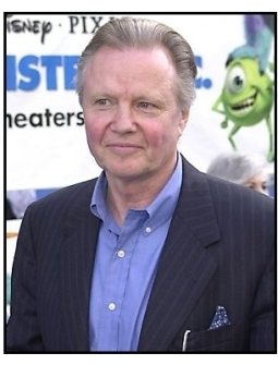 Jon Voight at the Monsters Inc premiere