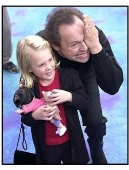 Billy Crystal and Mary Gibbs at the Monsters Inc premiere