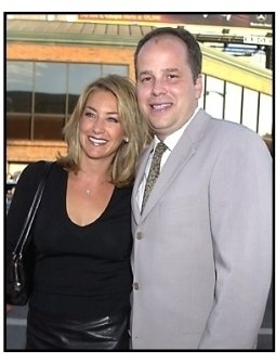 JB Rogers and wife at the American Pie 2 premiere