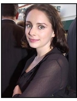 Laura Fraser at the A Knight's Tale premiere