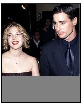 "Drew Barrymore and Luke Wilson at ""Home Fries"" Premiere"