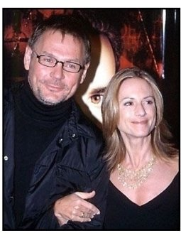 Janusz Kaminski and Holly Hunter at the Lost Souls premiere
