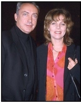Udo Kier and date at the Shadow of the Vampire premiere