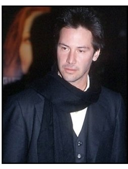 Keanu Reeves at The Gift premiere