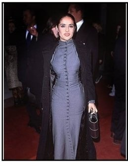 "Salma Hayek at ""The Faculty"" Premiere 2 (full-length)"