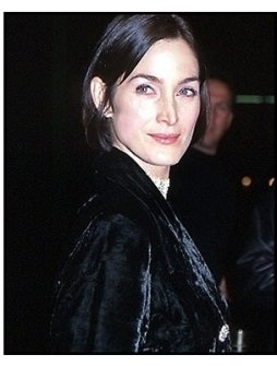 Carrie-Anne Moss at the Chocolat premiere
