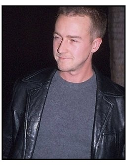 Edward Norton at the Chocolat premiere
