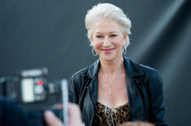 Helen Mirren at the Arthur UK premiere