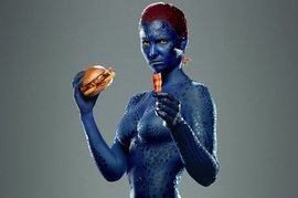 Carls Jr, X-Men Days of Future Past Product Promotion