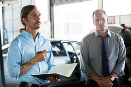 True Detective, Matthew McConaughey and Woody Harrelson