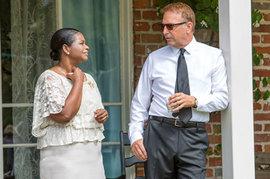 Octavia Spencer and Kevin Costner