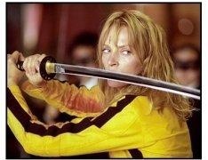 """""""Kill Bill Vol. 1"""" movie still: Uma Thurman"""
