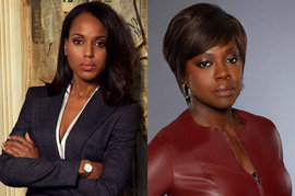 Kerry Washington, Scandal, Viola Davis, How to Get Away With Murder