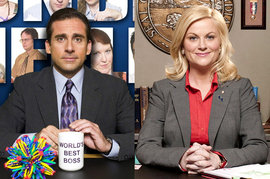 The Office, Steve Carell, Parks and Recreation, Amy Poehler