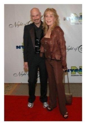 Bob Kulick and Stella Stevens