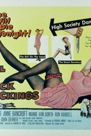Girl in Black Stockings