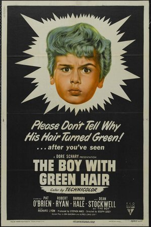 Boy With Green Hair