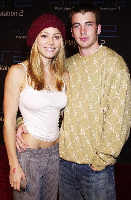 Jessica Biel, Chris Evans