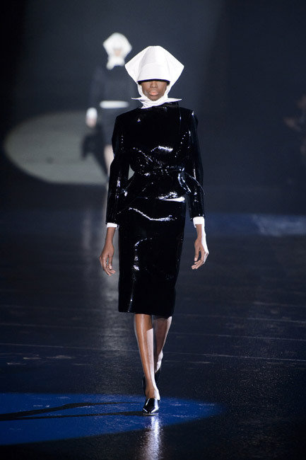 Paris Fashion Week - Autumn/Winter 2013 - Thierry Mugler Runway