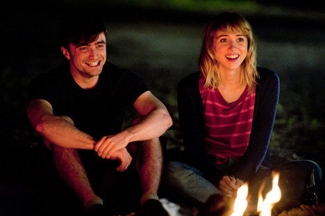 What If, Daniel Radcliffe and Zoe Kazan