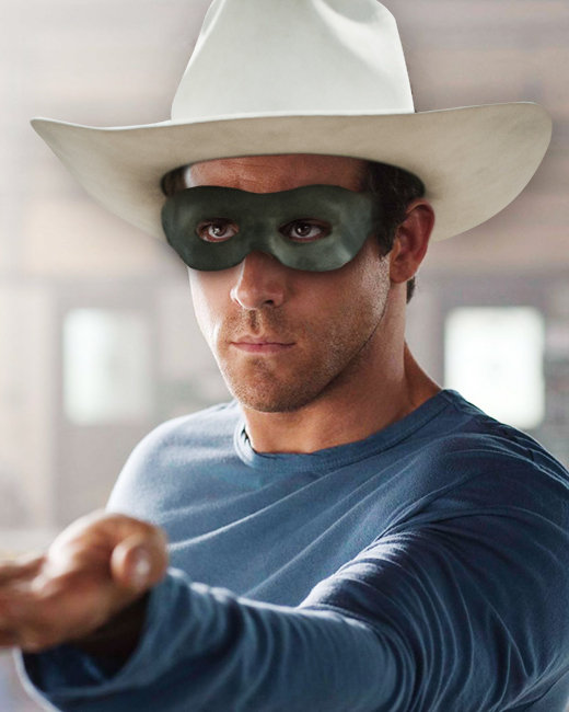 Ryan Reynolds, The Green Lantern, The Lone Ranger