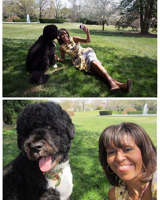 Michelle Obama, Instagram