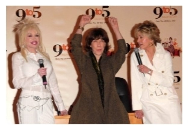 Dolly Parton with Lily Tomlin and Jane Fonda