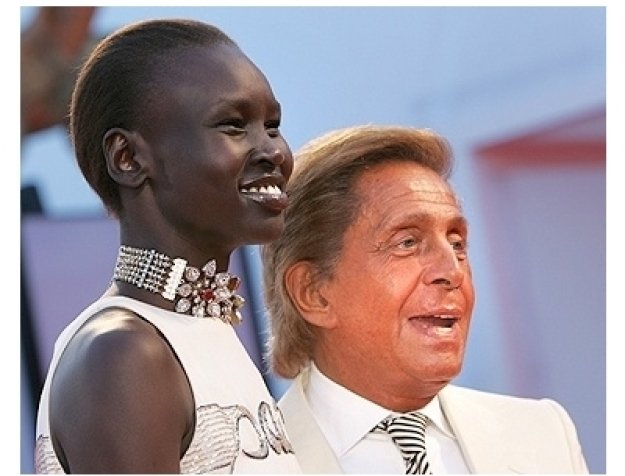Casanova Premiere Photos: Alek Wek and Valentino