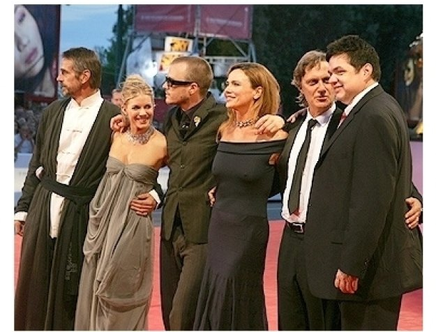 Casanova Premiere Photos: Jeremy Irons, Sienna Miller, Heath Ledger, Lena Olin, Director Lasse Hallstrom and Oliver Platt