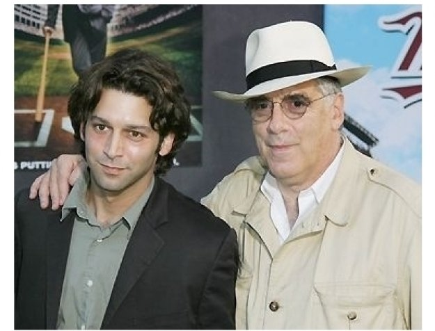 Elliott Gould with son Sam Gould at the Mr. 3000 Premiere